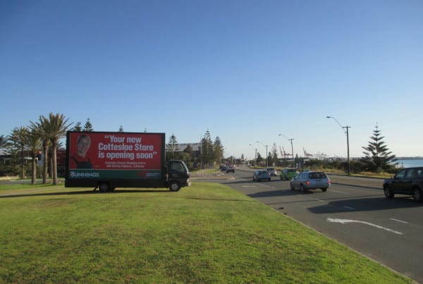 Mobile-Billboards---Bunnings---Cottesloe
