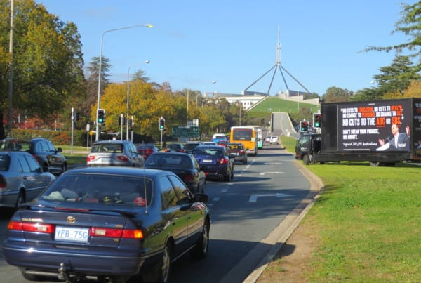 Mobile-Billboards---GetUp---Canberra
