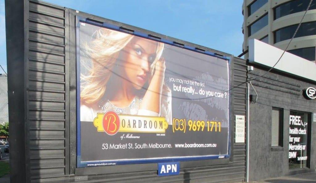 STT Advertising – Billboard Advertising – 6x3 Billboard