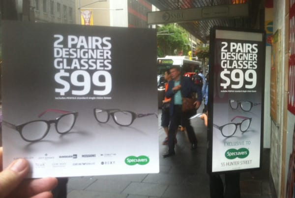 Walking-Billboards---SpecSavers---Sydney